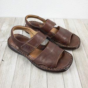 BORN Sandals ankle strap, Size 6 / 36.5 M/W